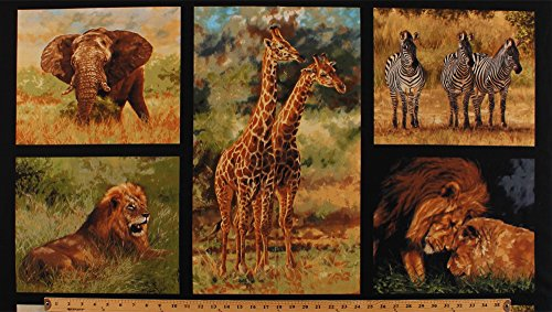 African Safari Fabric - 4