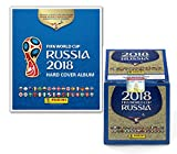 Panini 2018 FIFA WORLD CUP RUSSIA HARD COVER ALBUM + 1 BOX