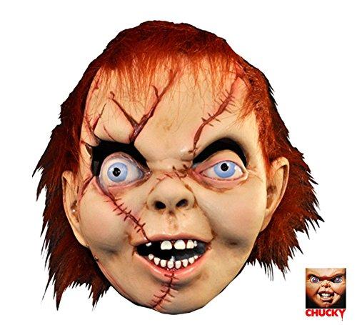 Loftus International Child's Play The Bride of Chucky: Chucky Latex Mask Novelty -