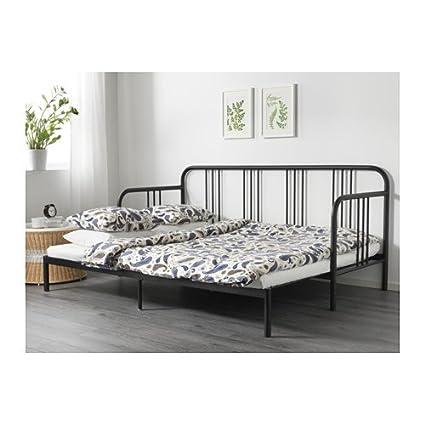 IKEA sofá con 2 colchones, doble tamaño, negro, meistervik firme 10204.1122.2230: Amazon.es: Oficina y papelería