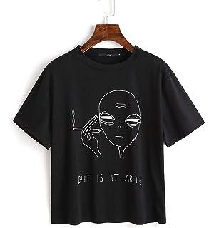 Amazon.com: Funny Hilarious Alien Smoking But is It Art ...