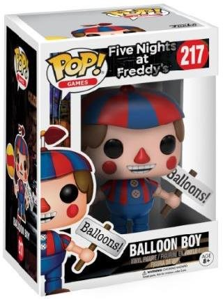 Funko POP! Games: Five Nights at Freddys - Balloon Boy - At The Outlets Marketplace