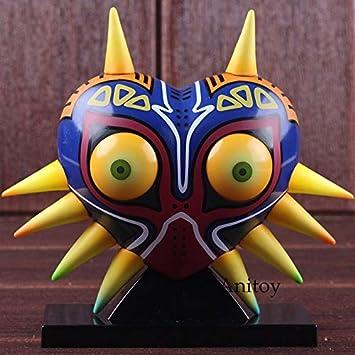 Romantic-Z Máscara de Majora Máscara de Majora con lámpara de Mesa de luz Acciones de PVC Figura Modelo de Juguete de colección: Amazon.es: Juguetes y juegos