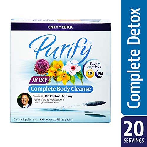 Comprehensive Cleansing Program Kit - Enzymedica - Purify, 10-Day Complete Cleanse Kit