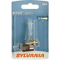 SYLVANIA 886 Basic Halogen Fog Bulb, (Contains 1 Bulb)