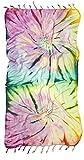 yoga towels tie dye - Kikoya Brand Tie Dye Pestemal Turkish Beach Towel, 33 Inch X 65 Inch Beach Towel Bath Pool Yoga Pilates Picnic Blanket Tapestry