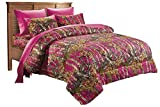 ''The Woods'' Hot Pink Licensed Comforter Full / Queen Size