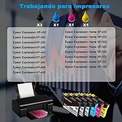 PayForLess Compatible 29XL Cartuchos de Tinta para Epson 29XL con ...