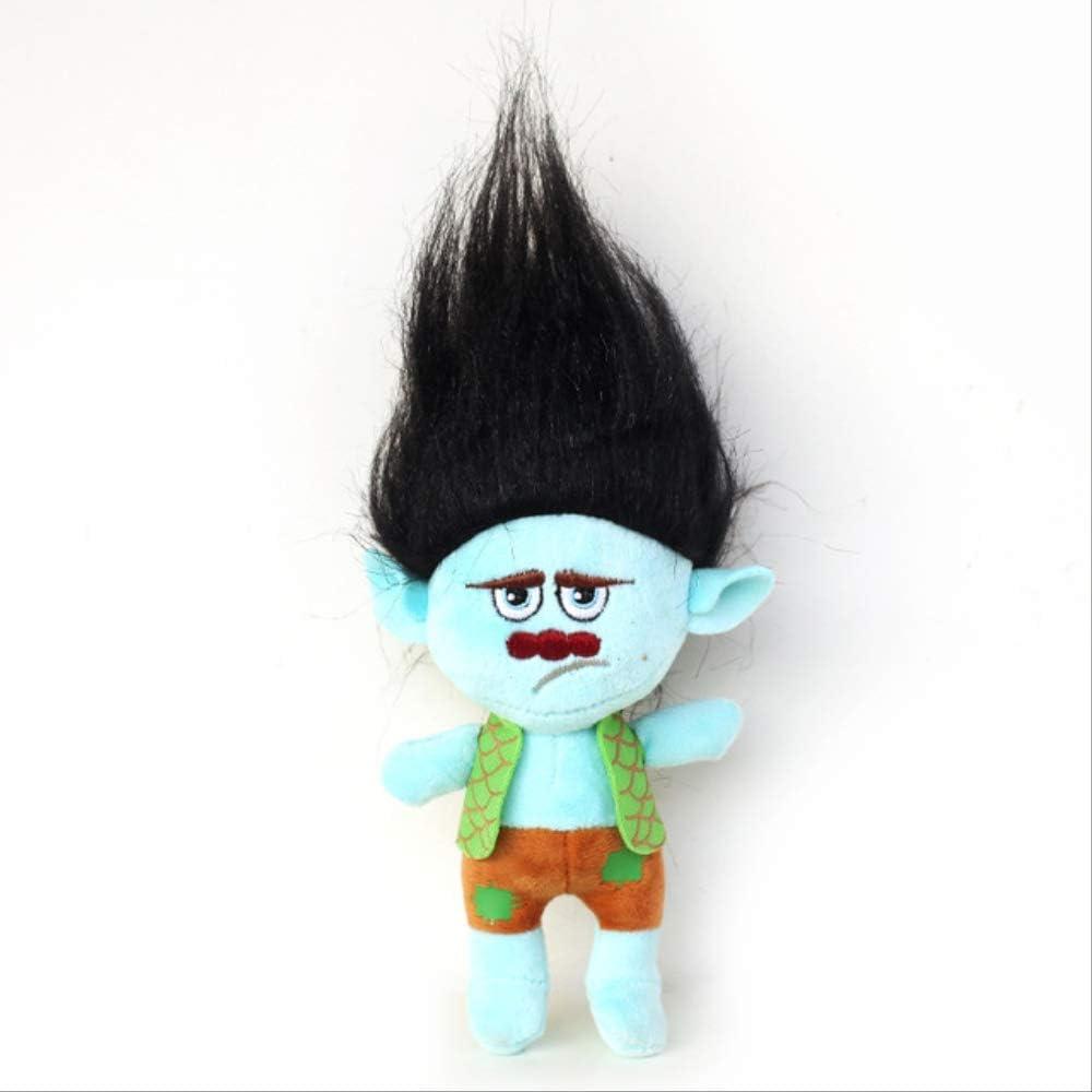 TOP LUCKY Troll Peluche Figure Poppy Bambole di pezza morbide Giocattoli da Collezione Regalo per Bambini