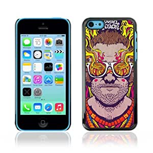YOYOSHOP [Abstract Psychedelic Sunglasses] Apple iPhone 5C Case