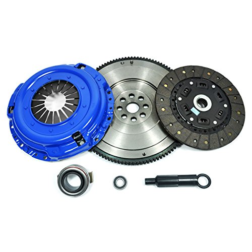 Pickup Clutch Flywheel - PPC STAGE 2 CLUTCH KIT & FLYWHEEL fits 83-95 PATHFINDER 720 D21 PICKUP 2.0L 2.4L