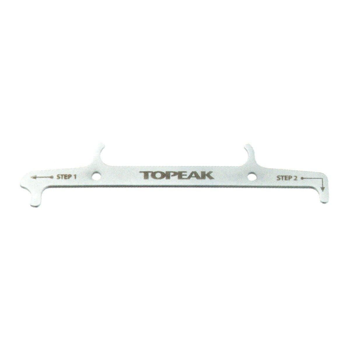 Topeak Chain Hook & Wear Indicator bike tools grey
