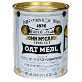 Mccanns Traditional Irish Oatmeal Tin - 28 Oz Pack -- 12 Case
