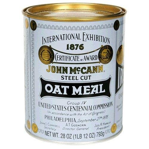 Mccanns Traditional Irish Oatmeal Tin - 28 Oz Pack -- 12 Case by McCann's