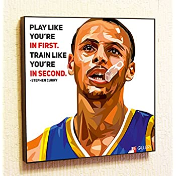 the latest c58be fb986 Amazon.com: Stephen Curry NBA Backetball Motivational Quotes ...