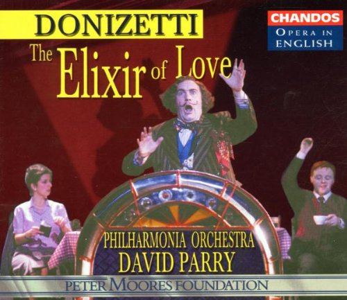 Donizetti - The Elixir of Love / Banks · Plazas · Holland · Shore · H. Williams · PO · Parry [in - Plaza Shore