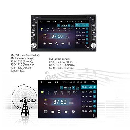 2 Din 6.2 pouces Android 6.0 OS stéréo de voiture pour Nissan Pathfinder 2005 2006 2007 2008 2009 2010,DAB+ radio 800x480 écran tactile capacitif Cortex A53 8 Core 1.5G CPU 2G DDR3 RAM 32G Flash GPS Navi best
