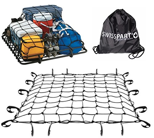 Black Rooftop Cargo Net Set 47