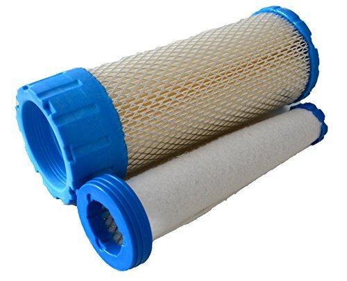 One Set Air Filter for Kohler 25 083 01, 25 083 04, Kawasaki 11013-7019, 11013-7020, Briggs & Stratton 841497, 821136 Aftermarket 2508301 2508304