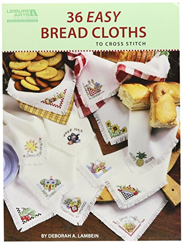 Leisure Arts-36 Easy Bread Cloths - Leisure Arts Pad