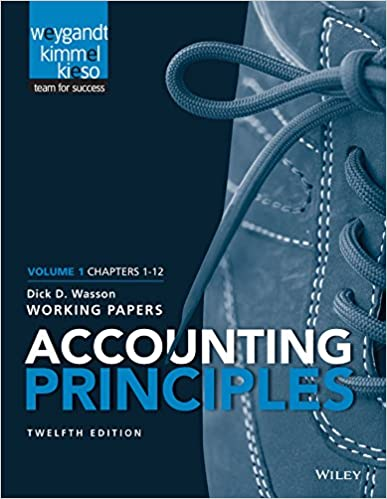 Amazon accounting principles volume 1 chapters 12 working amazon accounting principles volume 1 chapters 12 working papers 9781118969984 jerry j weygandt paul d kimmel donald e kieso books fandeluxe Gallery