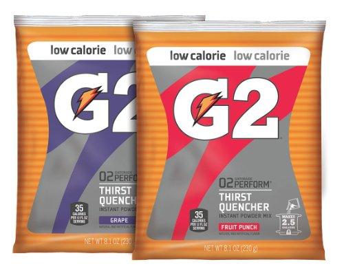 G2 2.5 Gallon Powder Variety Pk; Gr & Fp Ca/32 by Gatorade