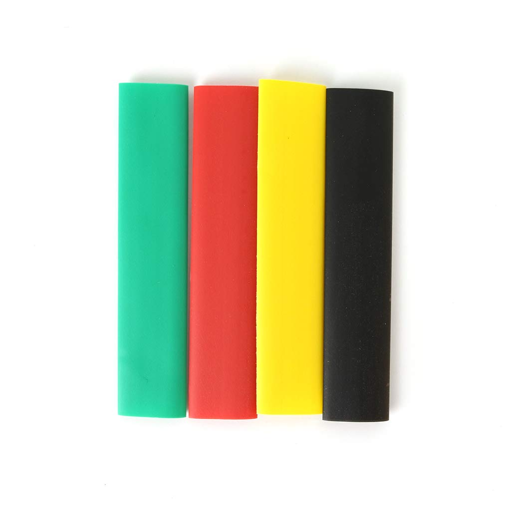8 Tailles Rekkles 328pcs Chaleur color/ée Gaine thermor/étractable Sleeving Wrap Set Tubes Fil C/âble
