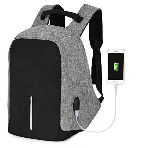 Vbiger Laptop Backpack Casual School Bag Large Capacity Shou
