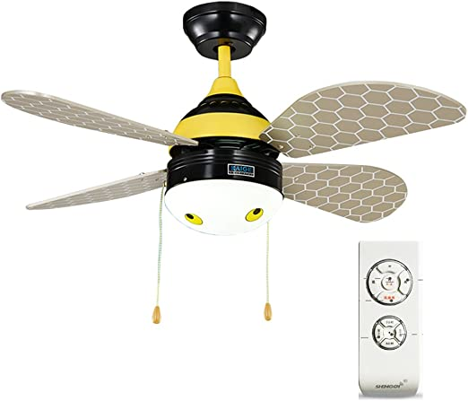 Ventiladores de techo con lámpara Ventilador de techo Habitación ...