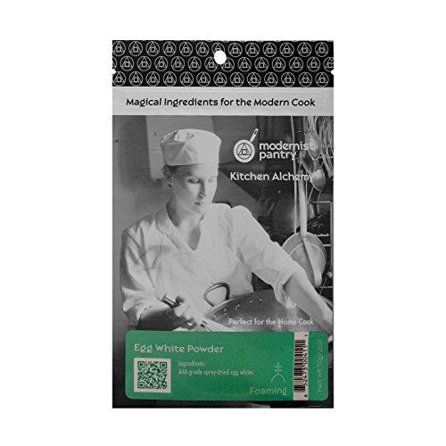 AAA Grade Egg White [Albumen] Powder ⊘ Non-GMO ✡ OU Kosher Certified (Molecular Gastronomy) - 50g/2oz (Grade Eggs)