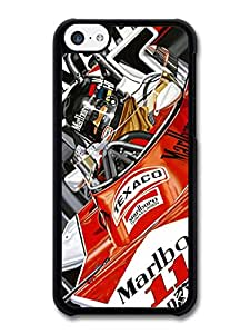 James Hunt Driving Car F1 Formula One Driver Rush carcasa de iPhone 5C A1032