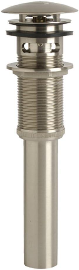 Danco 89460 Universal Sink Drain, Brushed Nickel