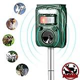 Best Pest Repellers - Ultrasonic Pest Repeller,Wikoo Solar Powered Waterproof Outdoor Animal Review