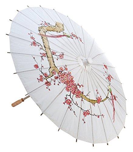 Quasimoon Cherry Parasol Umbrella PaperLanternStore
