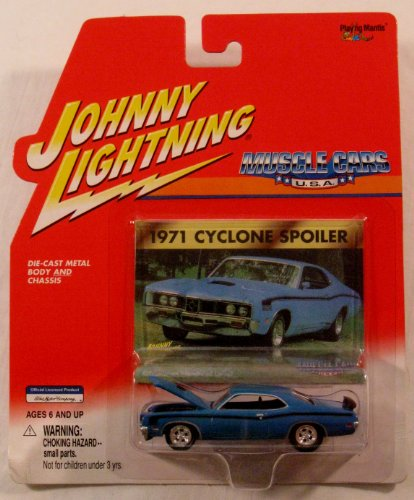 Johnny Lightning - 1971 Cyclone Spoiler - Muscle Cars U.S.A. Collection