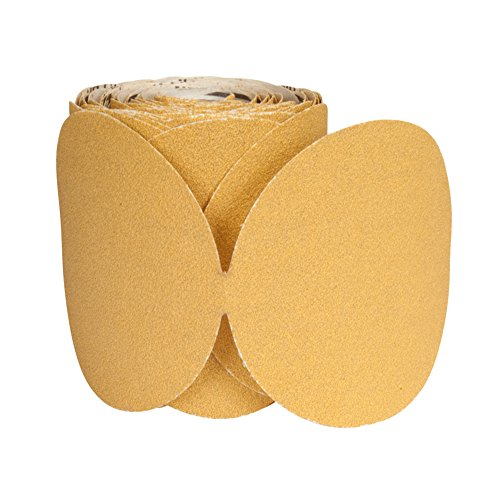 NORTON 66261149829 5'' Blank P100-C A290 No-Fil Adalox Psa 100/Roll (Price is for 4 Roll/Box) by Norton Abrasives - St. Gobain