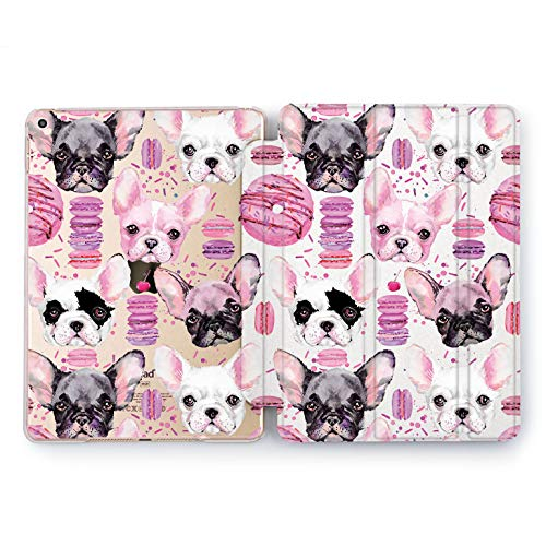 Wonder Wild Donuts Doggy iPad 5th 6th Generation Tablet Design Mini 1 2 3 4 Air 2 Pro 10.5 12.9 2018 2017 9.7 inch Smart Stand Cover Cute Animals Little -