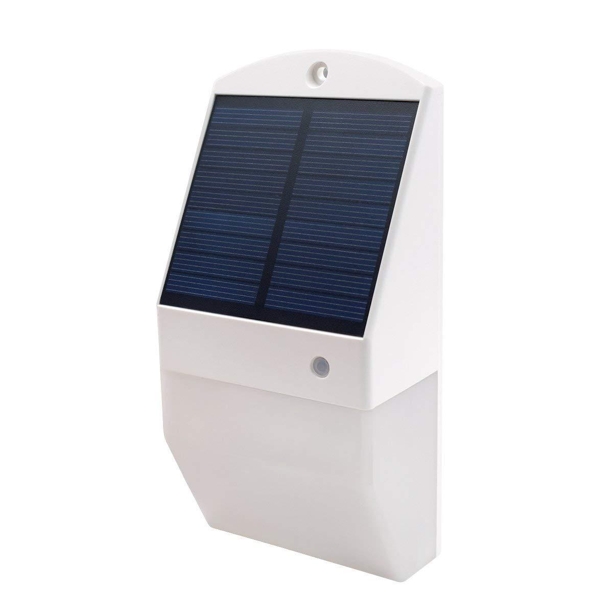NUNET Solar Led Lights Outdoor, Wireless 25 Solar Led Motion Sensor Lights, IP65 Waterproof Security Lights for Outdoor Backyard, Fence, Driveway, Garden, Garage etc.