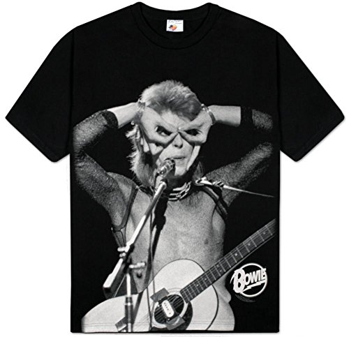 David Bowie - Hand Over Eyes T-Shirt Size L