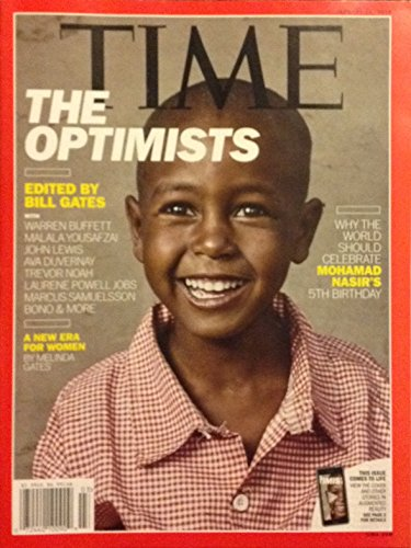 Time Magazine (January 15, 2018) The Optimists Cover