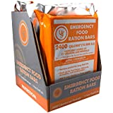 UST Emergency Food Ration Bars, 4-Pack