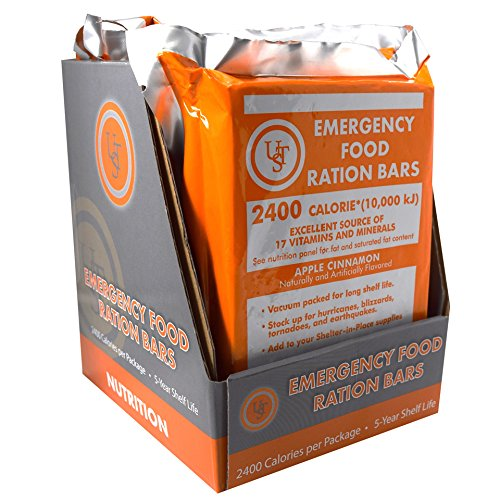 UST Emergency Food Ration Bars (PDQ 4-ct) (Best Emergency Food Rations)