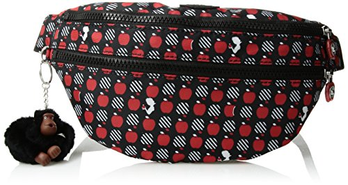 Kipling Women's Disney Snow White Collection Printed Yasmina Waistpack, Hypnotic Apple by Kipling