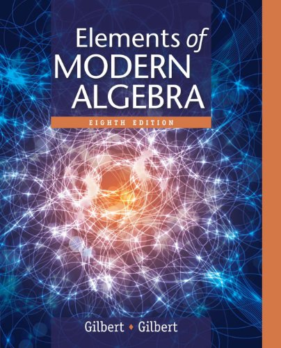 Elements of Modern Algebra Pdf