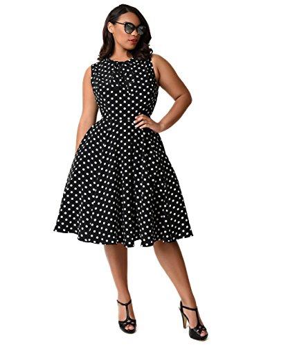 ivory 40s style dress - 7