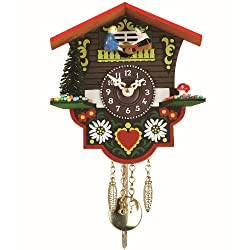 Black Forest Clock Swiss House, incl. battery TU 26 PWQ