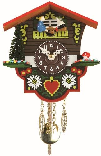 A picture of this clock to better elaborate Best Cheap Cuckoo Clocks