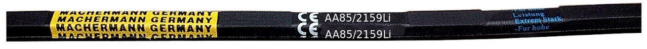 Nº 136, correa trapezoidal para AA 85, doble correa: Amazon.es: Jardín