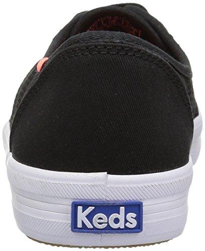 Sneaker A Rete A Righe Nera Kate Kickstart Keds