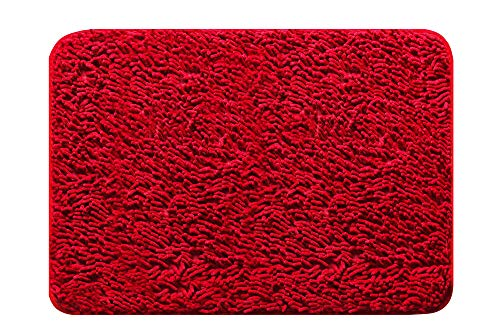 Tapete Comfort Imp 40 X 60 Cm, Jolitex, Vermelho, Pequeno